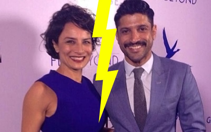 It's official! Farhan-Adhuna to file for divorce!