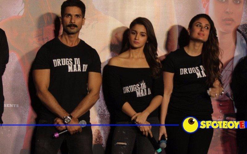 Shahid, Alia, Kareena launch Udta Punjab