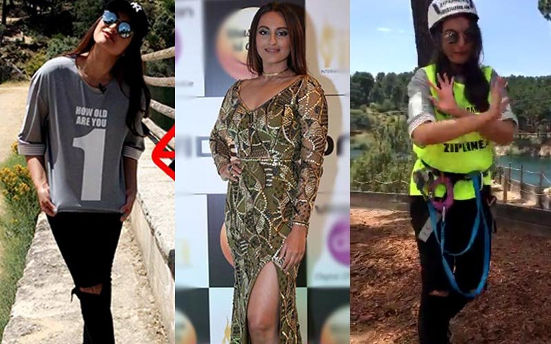IIFA Fever: Sonakshi takes over Spain