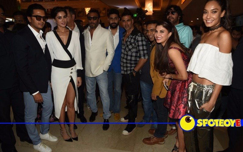 It was Housefull at this trailer launch!