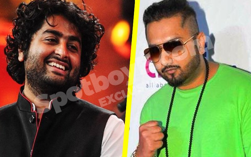 Guess how much Arijit is demanding to sit on Honey Singh's chair!