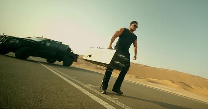 A Still Of Salman Khan From Race3