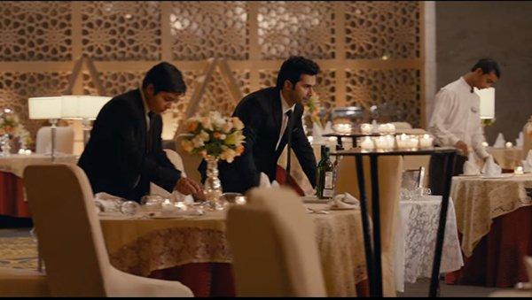A Still Of Varun Dhawan From Movie October