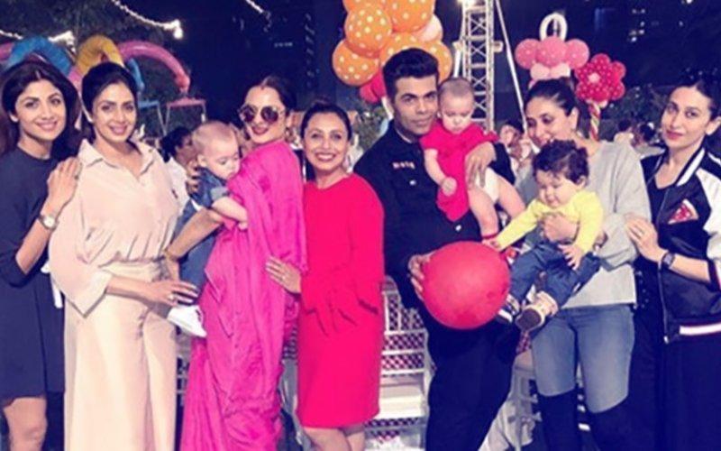 Shah Rukh, Kareena, Katrina, Alia & Karan Celebrate Adira Chopra's 2nd Birthday