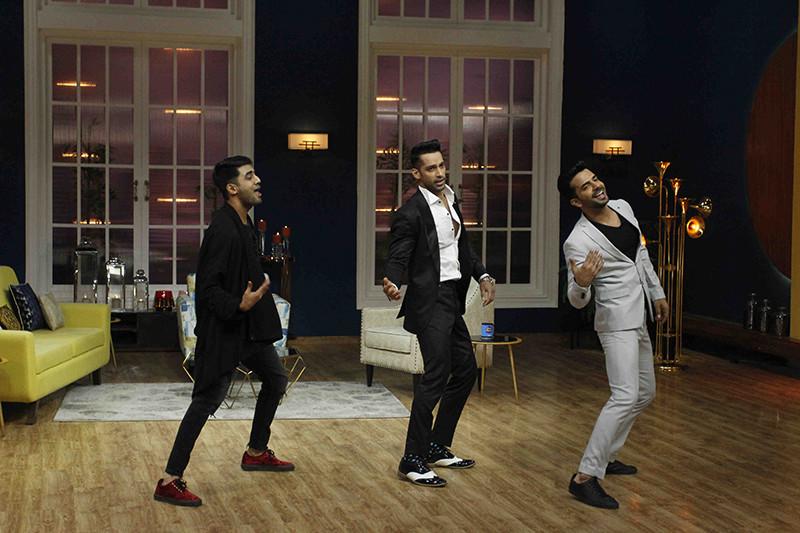 Akshay Mhatre With Karan Vohra And Manit Joura Danced To The Beats Of Tan Tana Tan