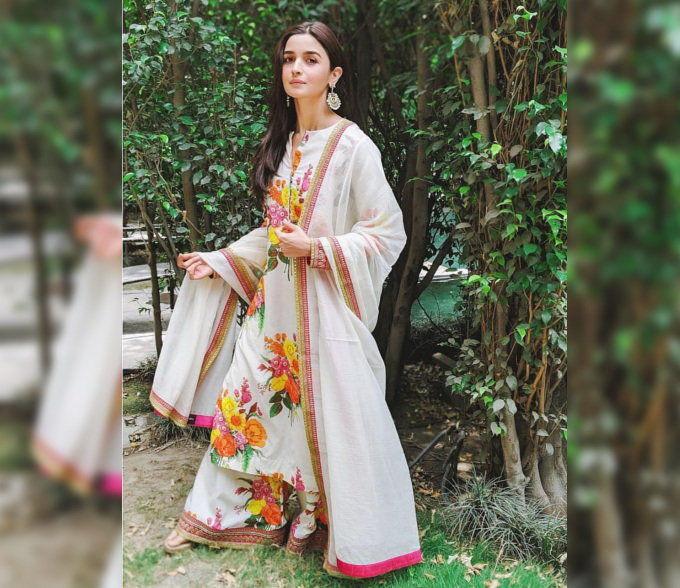 Alia Bhatt Posing For A Shoot