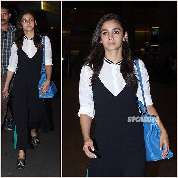 Alia Bhatt At Airport