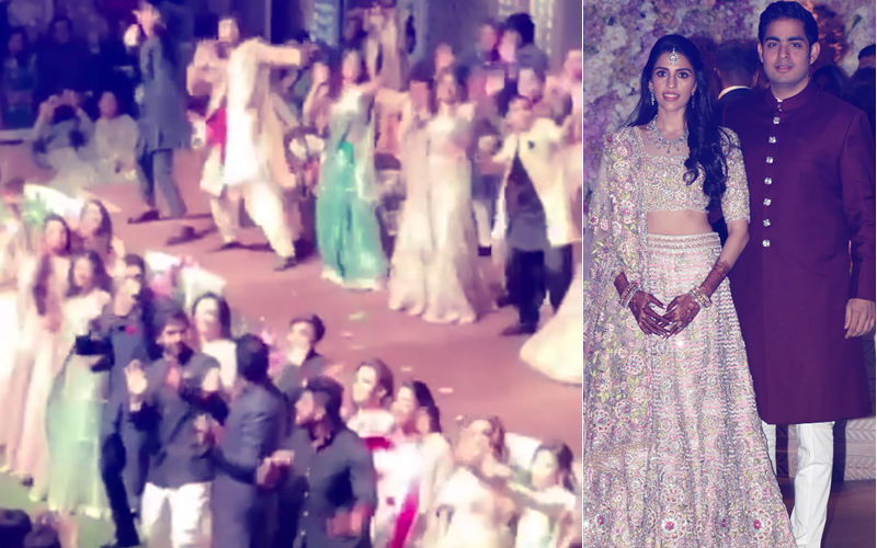 Inside Video From Ambani Bash: SRK, Aamir, Ranbir, Alia, Sidharth, Arjun, Tiger, Disha Groove On Stage