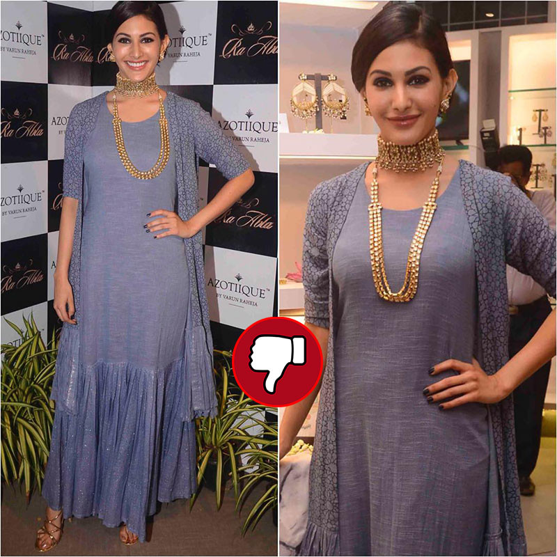Amyra Dastur Snapped At The Launch Of A Jewellery Brand Store