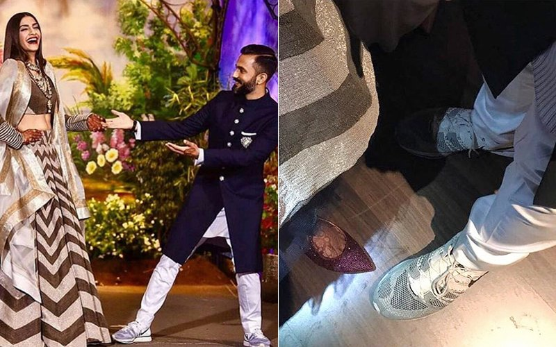 Why Anand Ahuja Wore Sneakers With Bandhgala At His Wedding Reception