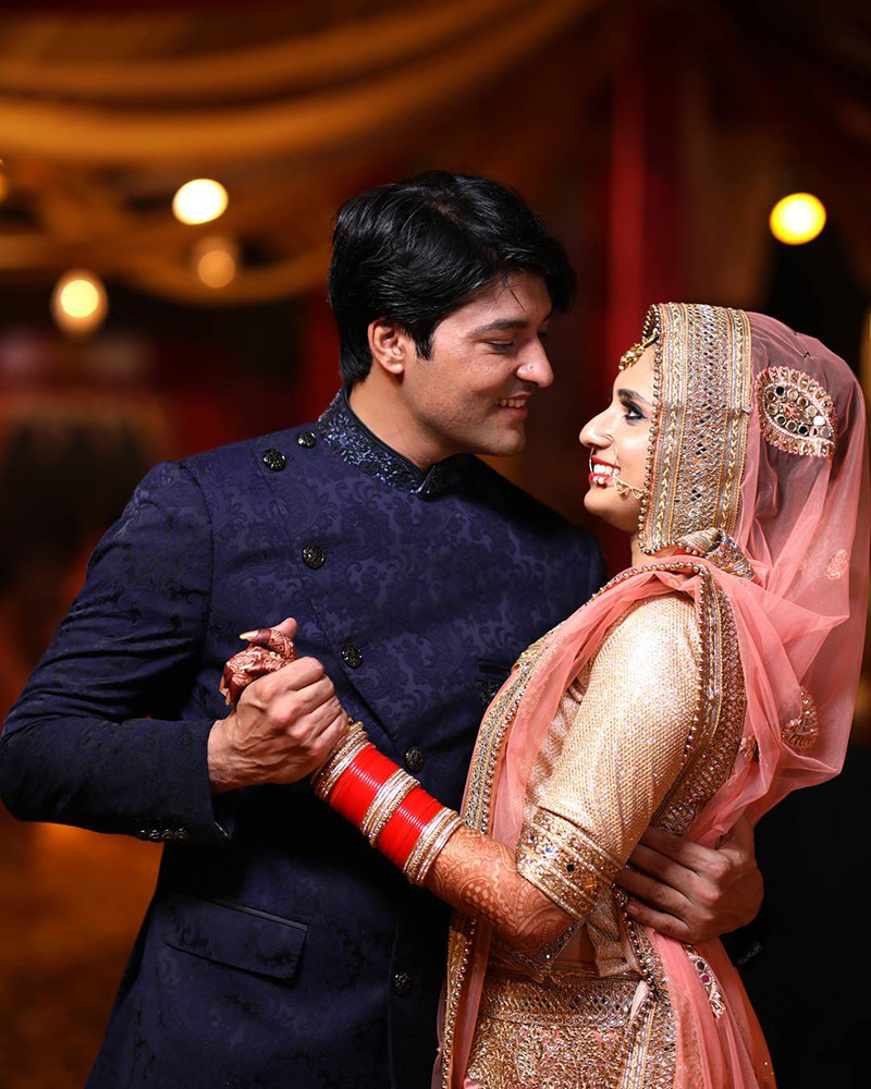 Anas Rashid With Heena Iqbal