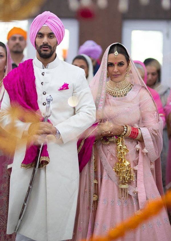 Angad Bedi Married Neha Dhupia