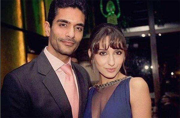 Angad Bedi With Ex Girlfriend Nora Fatehi