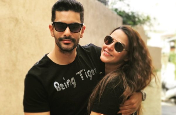 Angad bedi With Wife Neha Dhupia