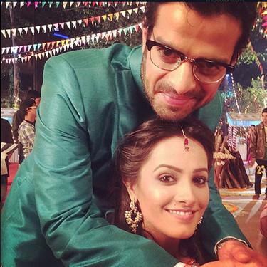Anita Hassanandani With Karan Patel