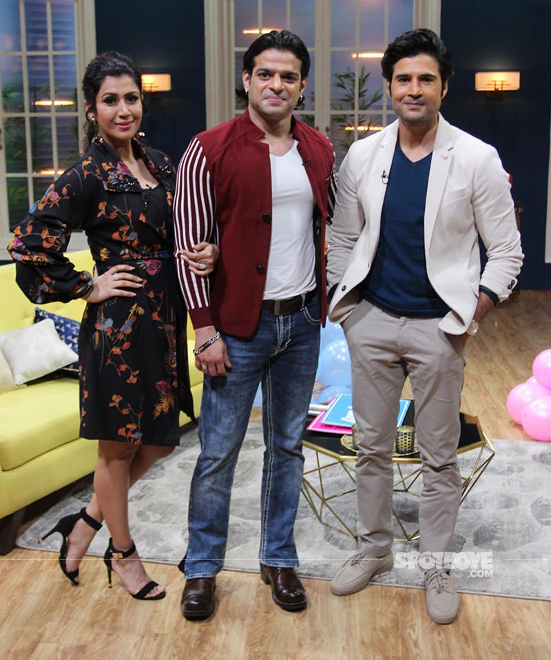 Ankita Bhargava Karan Patel And Rajeev Khandelwal On JuzzBaatt