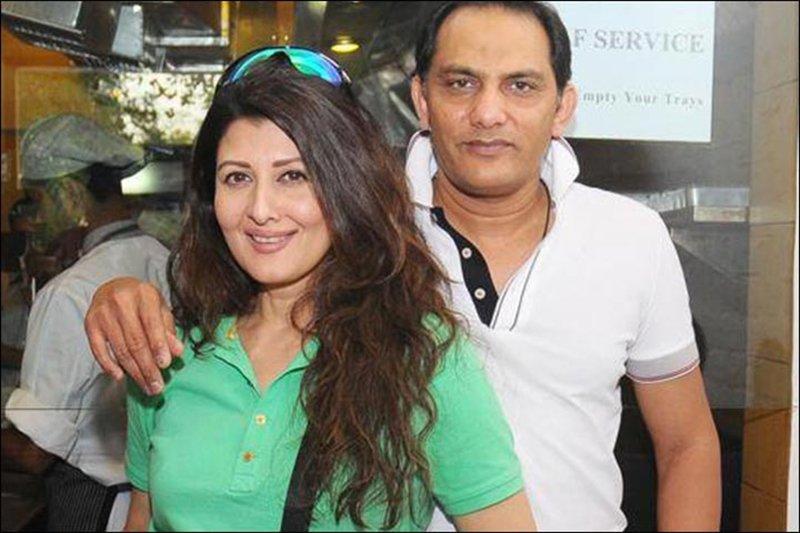 Azharuddin And Sangeeta