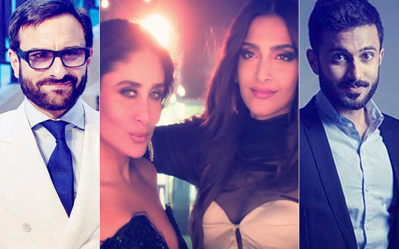 Video: Here's What Saif Ali Khan & Anand Ahuja Said After Watching Sonam-Kareena Kapoor's Tareefan