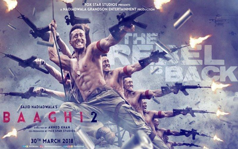 बॉक्स ऑफिस पर टाइगर की दहाड़ जारी, दूसरे दिन 'बागी 2' ने कमाए इतने करोड़