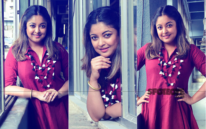 Back In Mumbai After 2 Years, Tanushree Dutta Shows Why The Camera Loves Her So Much