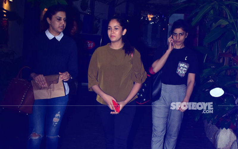 Bandra Diaries: Mira Rajput Steps Out For Lunch With Her Girls