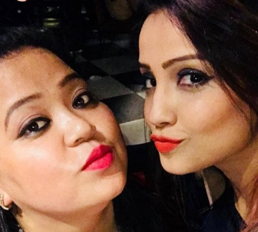 bharti singh pouts for the camera