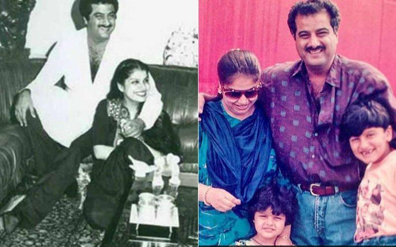 Boney Kapoor With Mona
