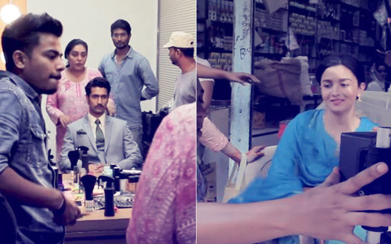You Don't Want to Miss This Behind-The-Scenes Footage Of Alia Bhatt & Vicky Kaushal's Raazi
