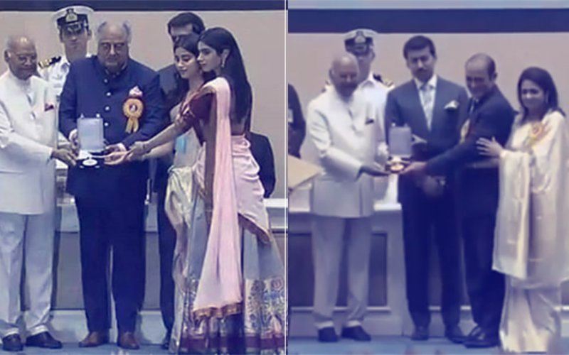 Sridevi & Vinod Khanna Will Be Missed Forever, Says President As Families Collect Awards