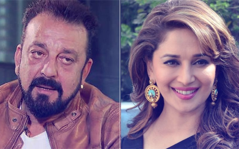 Sanjay Dutt Storms Out When Asked About Madhuri Dixit