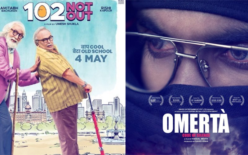 102 Not Out & Omerta Box-Office Collection, Day 2: Films Register Steady Growth