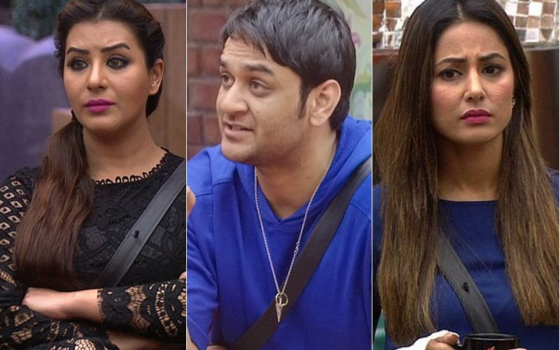 Shilpa Shinde Vikas Gupta And Hina Khan