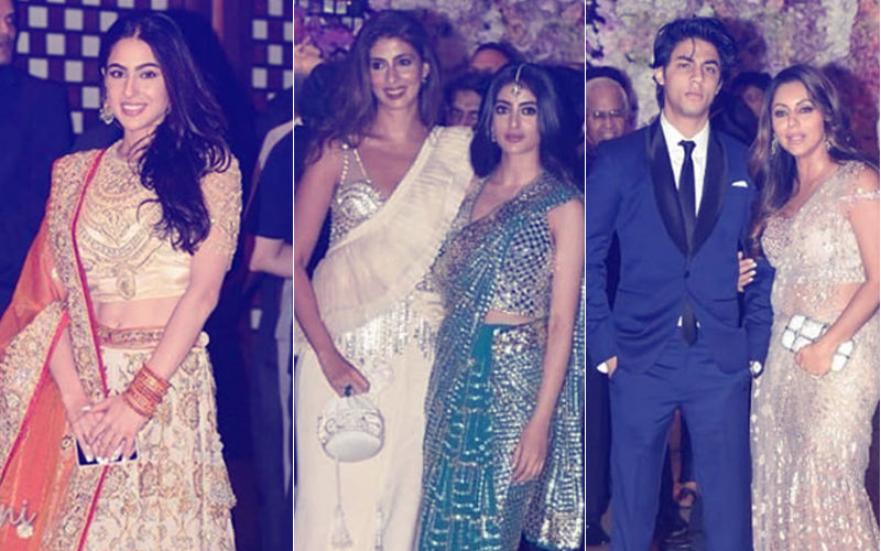 Ambani Engagement Party: B-Town's Young Brigade- Sara Ali Khan, Navya Naveli Nanda & Aryan Khan Enter With Swag