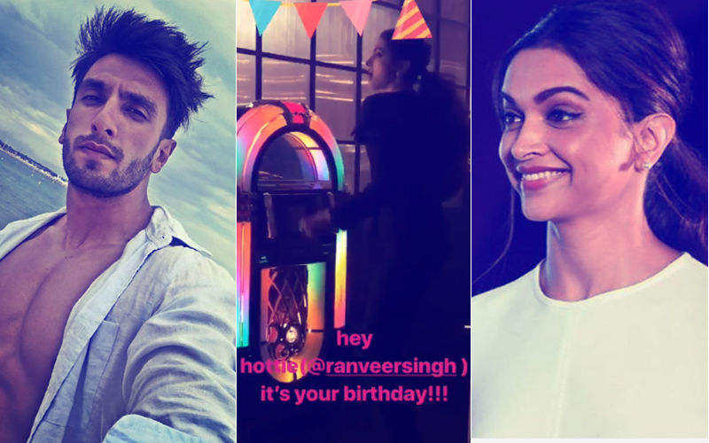 Video: And That's How Deepika Padukone Wished 'Hottie' Boyfriend, Ranveer Singh On His Birthday...
