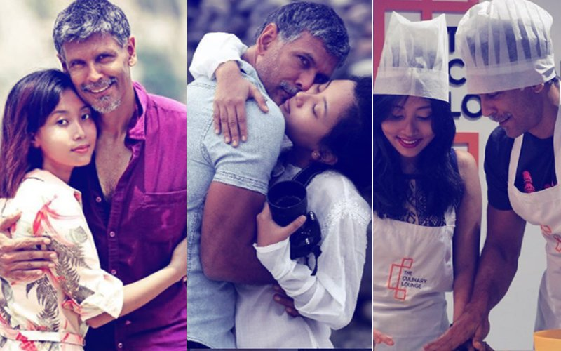 Milind Soman & Ankita Konwar's Love Story In Pictures
