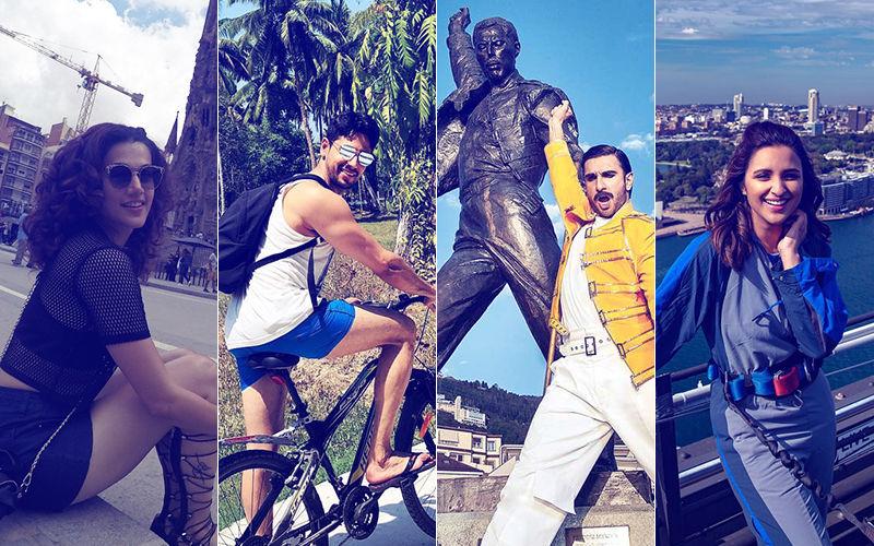 Snapshots From Ranveer Singh, Sidharth Malhotra, Taapsee Pannu, Parineeti Chopra's Vacay Diaries