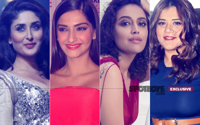 Veeres Kareena, Sonam, Swara & Shikha Go Candid On Men, Relationships, Trolls