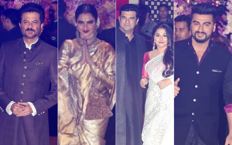 Ambani Engagement Party: Anil Kapoor, Rekha, Vidya Balan-Siddharth Roy Kapur & Arjun Kapoor Arrive For The Big Night