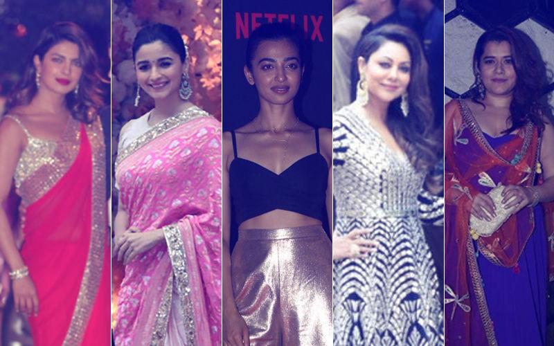 STUNNER OR BUMMER: Priyanka Chopra, Alia Bhatt, Radhika Apte, Gauri Khan Or Shikha Talsania?
