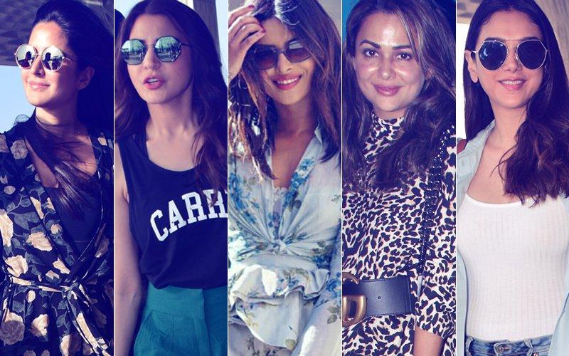 STUNNER OR BUMMER: Katrina Kaif, Anushka Sharma, Priyanka Chopra, Amrita Arora Or Aditi Rao Hydari?