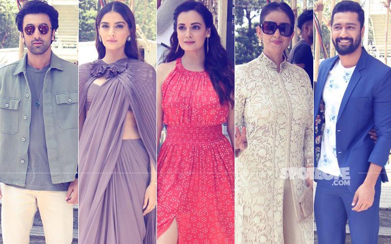 Ranbir, Sonam Kapoor, Dia Mirza, Manisha Koirala, Vicky Kaushal Unveil The Sanju Trailer