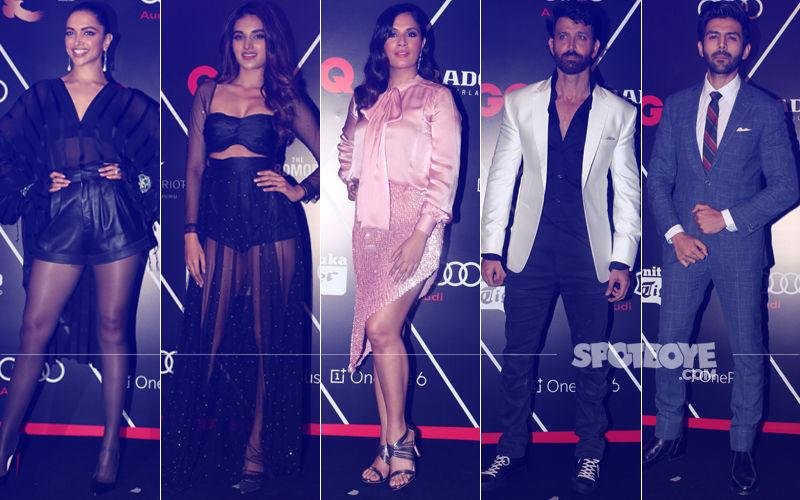 BEST DRESSED & WORST DRESSED AT GQ 100 Best Dressed 2018: Deepika Padukone, Nidhhi Agerwal, Richa Chadha, Hrithik Roshan Or Kartik Aaryan?