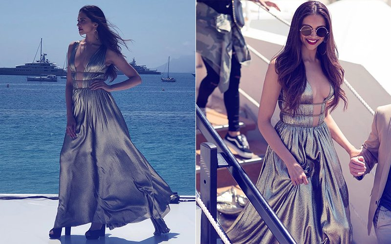 Cannes 2018, Day 2: Golden Goddess Deepika Padukone's Winsome Look Is Too Hot To Handle
