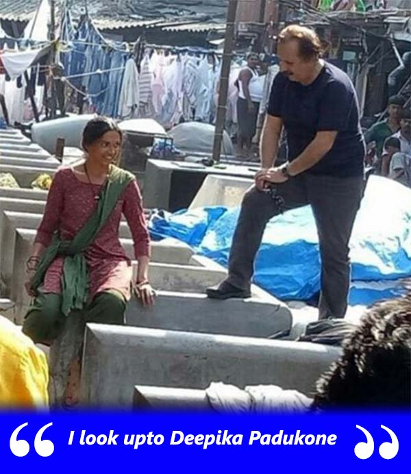 Deepika Padukone On The Sets Of Dhobi Ghat