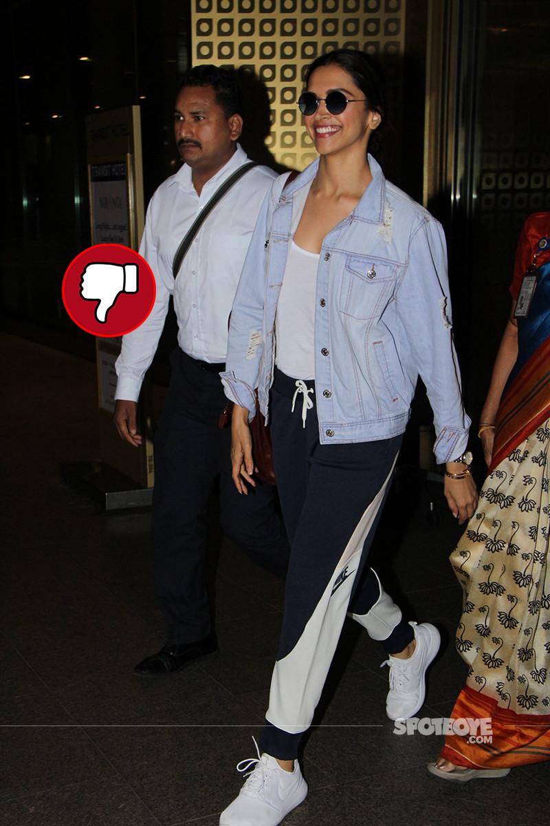 Deepika Padukon Snapped At Airport
