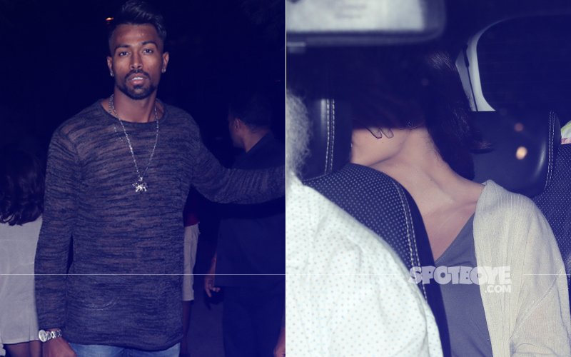 Lovebirds Elli AvrRam & Hardik Pandya Pamper Themselves At A Salon