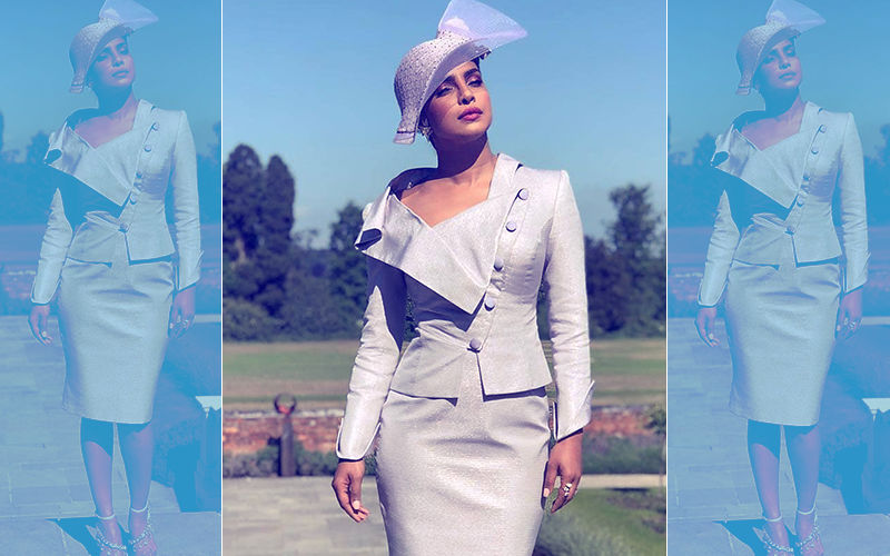 Priyanka Chopra Looks Gorgeous At Meghan Markle's Royal Wedding