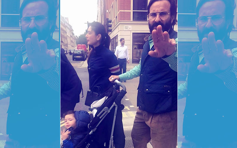 No Privacy: Saif Ali Khan Annoyed As Fan Clicks His Picture With Kareena Kapoor & Taimur