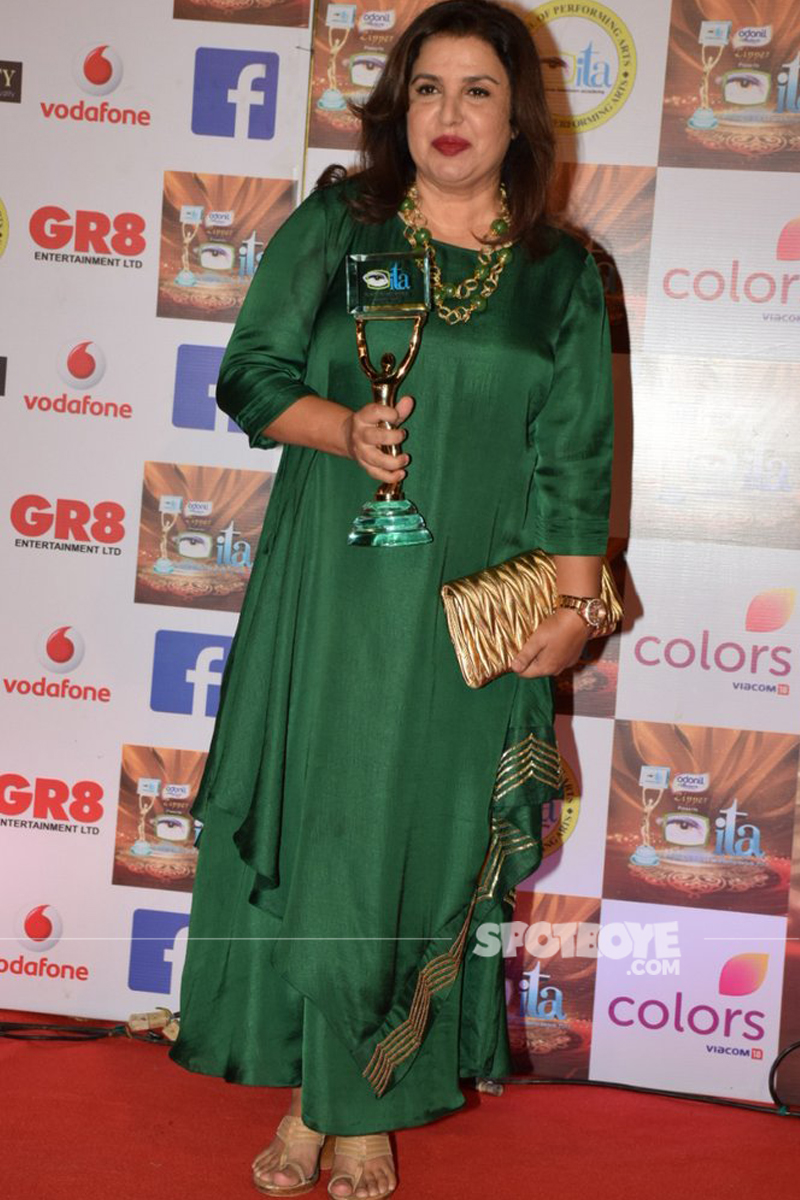 Farah Khan At ITA Awrads