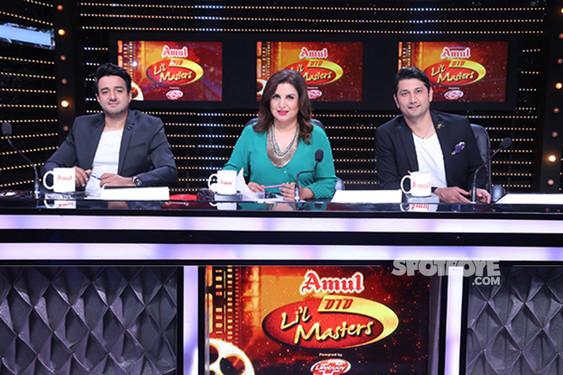 Farah Khan With Marzi Pestonji And Siddharth Anand